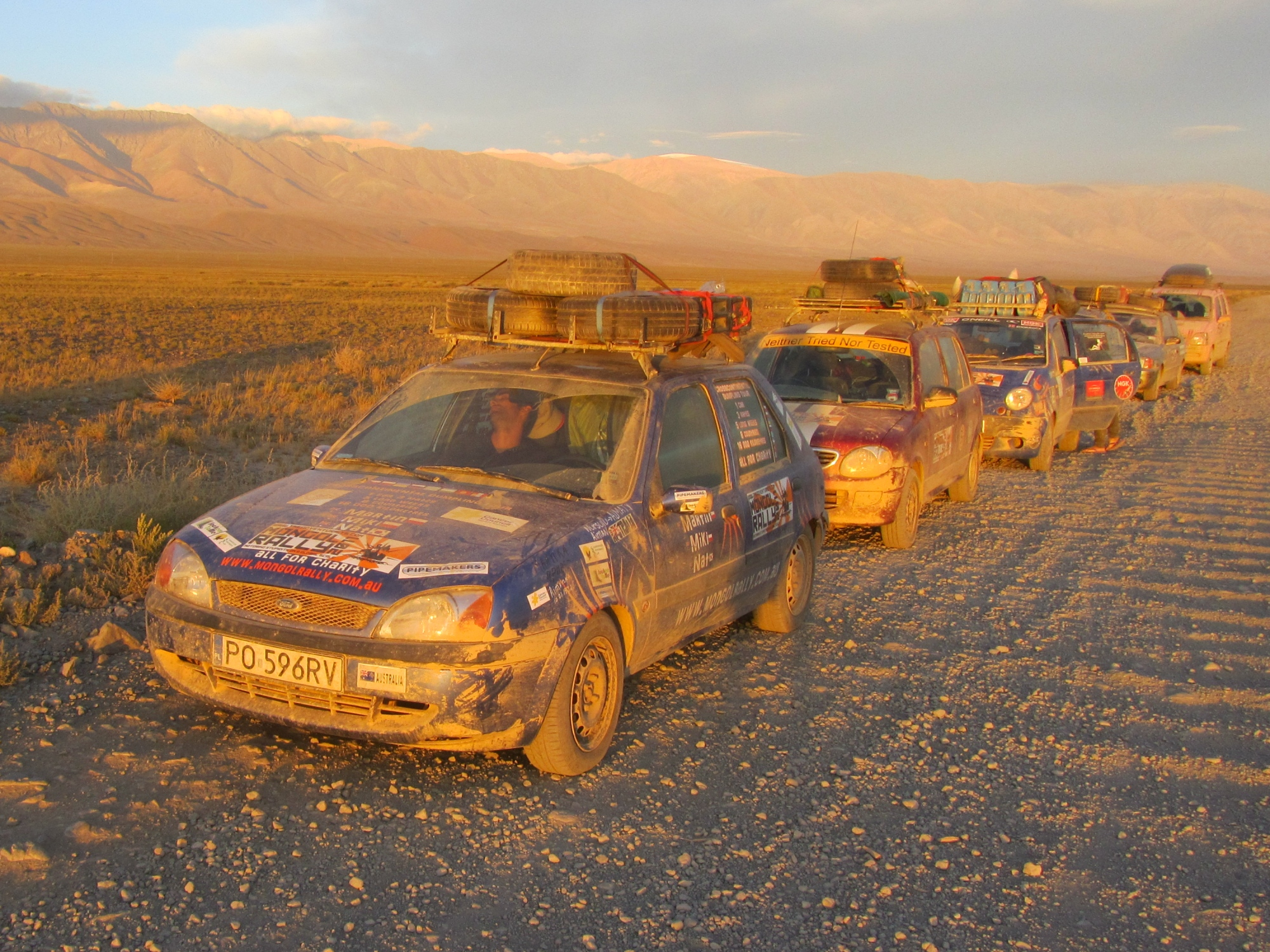 Costs Of The Mongol Rally Car Bits And Petrol